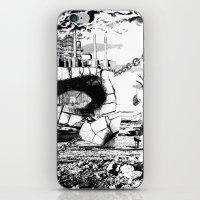 pittsburgh iPhone & iPod Skins featuring PITTSBURGH, PENNSYLVANIA by Alberto Matsumura