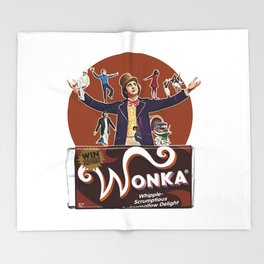 Willy Wonka - Cinema Classics Throw Blanket