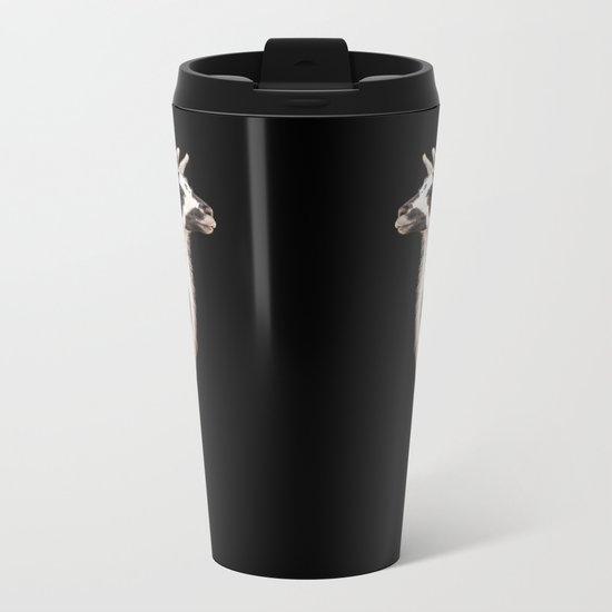 LAMA ( LLAMA) Metal Travel Mug