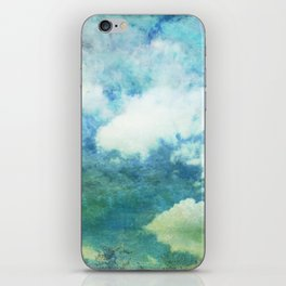 Partly cloudy iPhone Skin