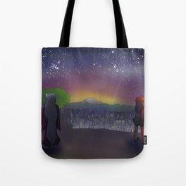 Stars in the Same Sky Tote Bag