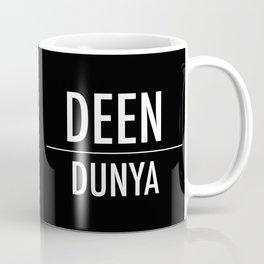 Deen Over Dunya x White Coffee Mug