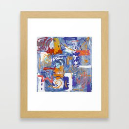 Shamanic Painting 01 Framed Art Print