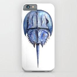 Blue Horseshoe Crab iPhone Case