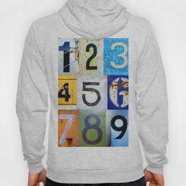 1,2,3,4,5,6,7,8,9 All The Numbers! In A Row! Hoody