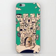 man castle iPhone & iPod Skin