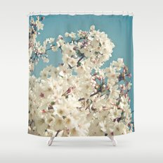 Buds in May Shower Curtain