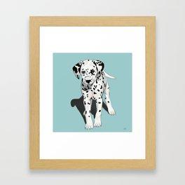 Dalmatian Puppy Framed Art Print