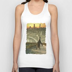 Penguin City Unisex Tank Top
