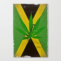jamaica Canvas Prints featuring Jamaica by Shalisa Photography