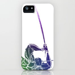 Spectral Guardian. iPhone Case