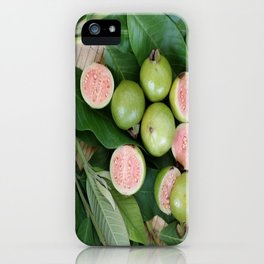 FRUITS & LEAVES iPhone Case