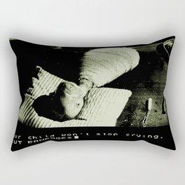 Eraserhead Text Adventure Rectangular Pillow