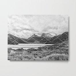 Mountain Geo Metal Print