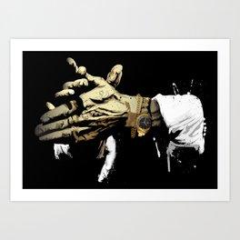 Las manos del Camarón Art Print