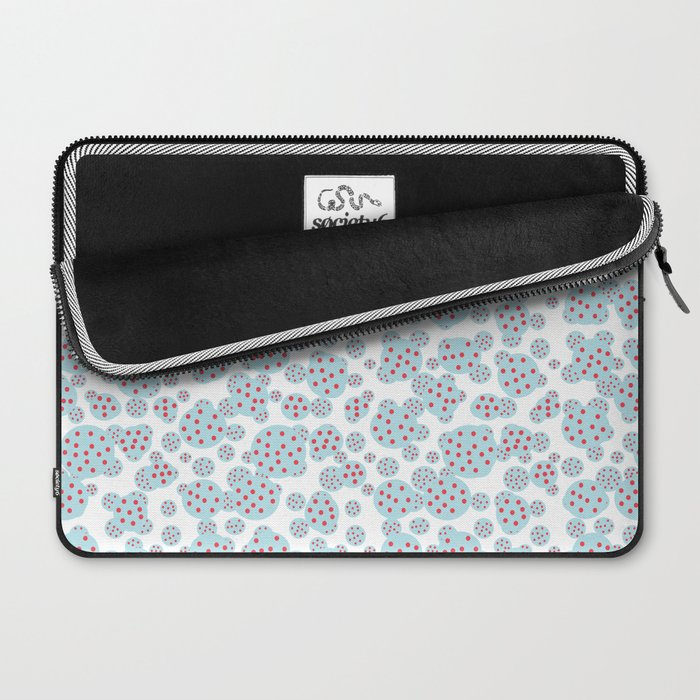 D- d- dotted Laptop Sleeve
