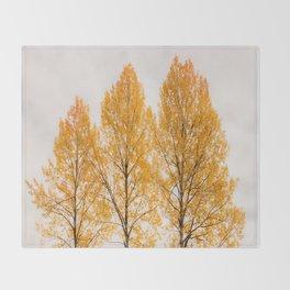 Aspen Trees #decor #buyart #society6 Throw Blanket