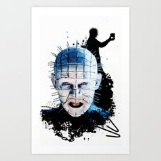 Pinhead: Monster Madness Series  Art Print