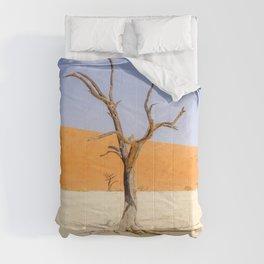Deadvlei Namibia Desert Dead Trees Comforters