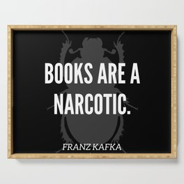 14  |  Franz Kafka Quotes | 190517 Serving Tray
