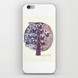 Untitled (tree), etching iPhone Skin
