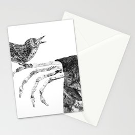 Death and the Nightingale Stationery Cards