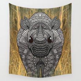Ornate Rino Wall Tapestry