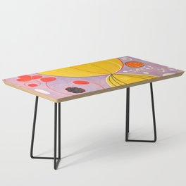 """Hilma af Klint """"The Ten Largest, No. 07, Adulthood, Group IV"""" Coffee Table"""