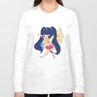 musa Long Sleeve T-shirts featuring Musa by gillyfleurillustration
