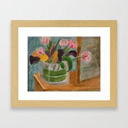 From Elizabeth to Mom Framed Art Print