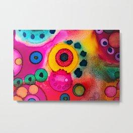 Color-eye-zed Metal Print