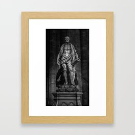 Marco from Agrate made me... Framed Art Print