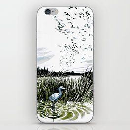 Dream of the Chicago wetlands. iPhone Skin