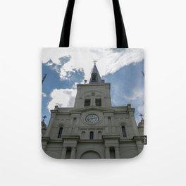 Piercing the Heavens Tote Bag