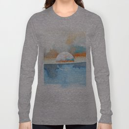 Orange Sea Drop Long Sleeve T-shirt