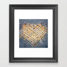 :: You Knit Me Together :: Framed Art Print
