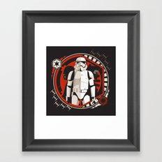 Dark Reflection Framed Art Print