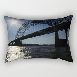 Memphis Bridge Rectangular Pillow