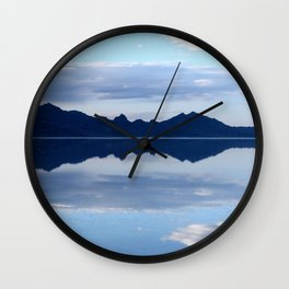 Soft Reflections Wall Clock