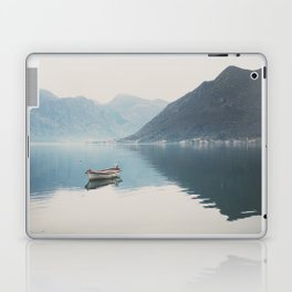 boat reflections ... Laptop & iPad Skin