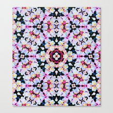 Kaleidoscope Flowers  Canvas Print