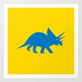 Simplesaurs: Ceratops Art Print