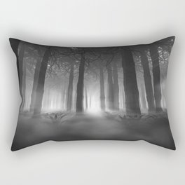Soul of the Forest B&W Rectangular Pillow