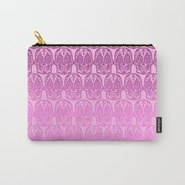 Pink Sugar Skull Carry-All Pouch