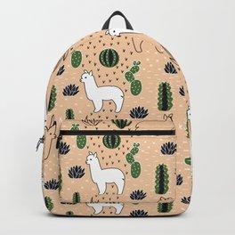 Alpaca&cactus Backpack