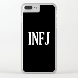 INFJ Clear iPhone Case