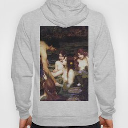 Hylas and the Nymphs,  John William Waterhouse Hoody
