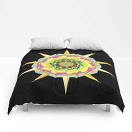 Colorful Mandala Comforters