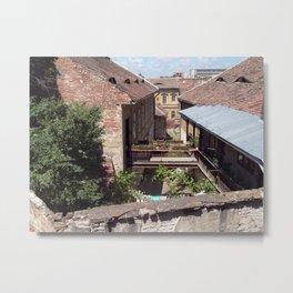 Backyard Metal Print