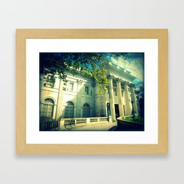 Marble House Framed Art Print